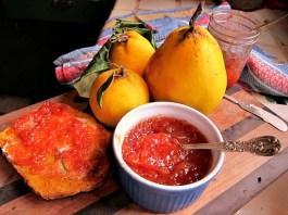 quince marmalade jam