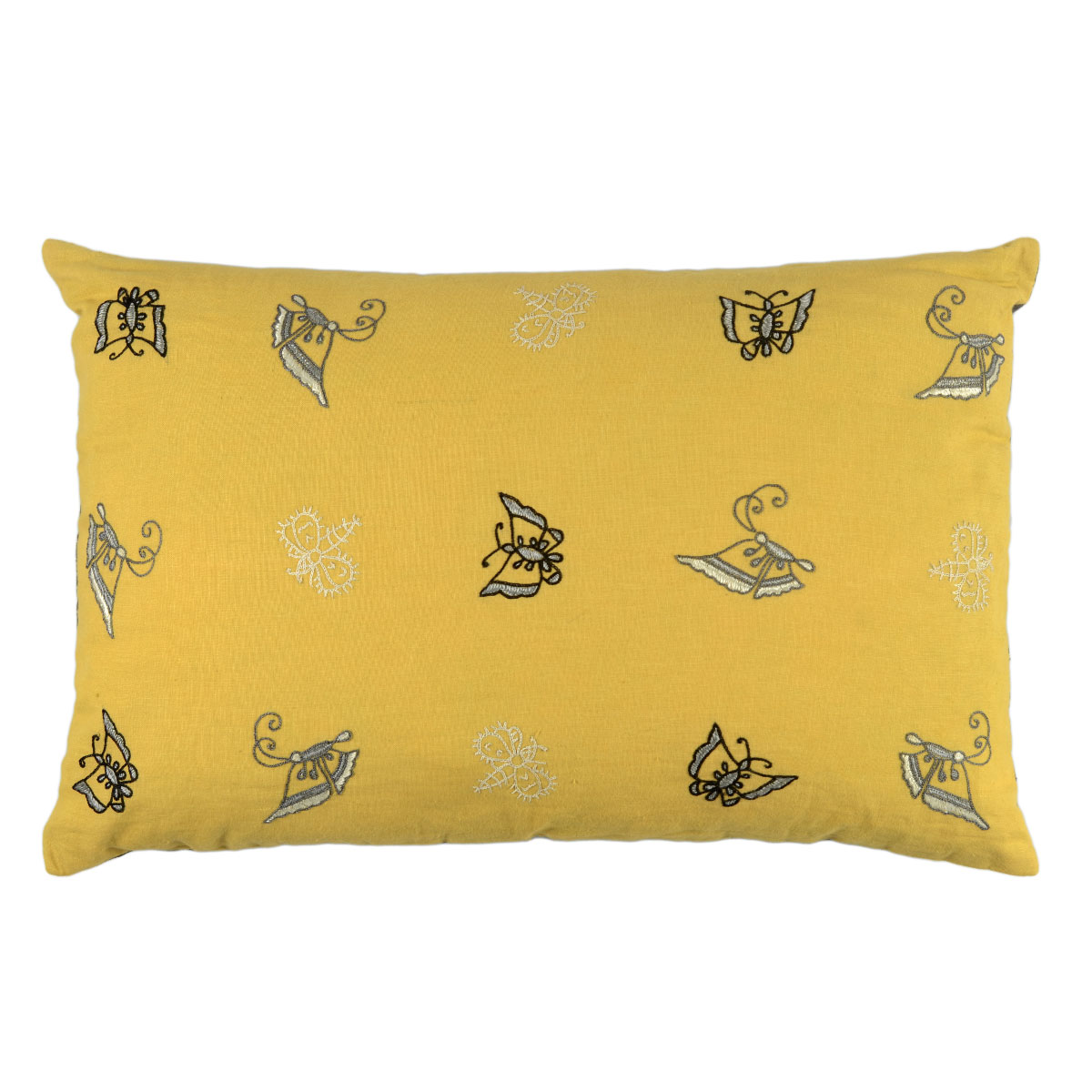 small yellow cushion online