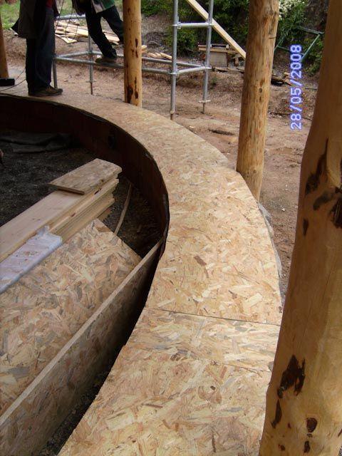 Marco inferior de madera