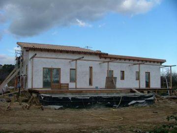 La casa ya encalada