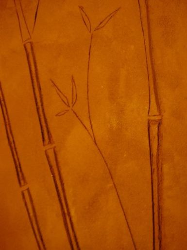 """detalle bambú """"impreso"""""""