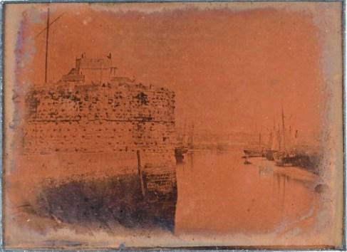Entrée port du Havre Fizeau 1841