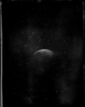 Becquerel Daguerreotype of the moon
