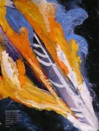 Contraste de color. Pintura acrílica. Barcelona 4 Pintors