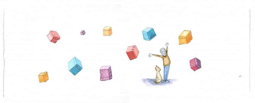 Ilustración en color. Acuarela y lápiz. Curso de ilustración Barcelona