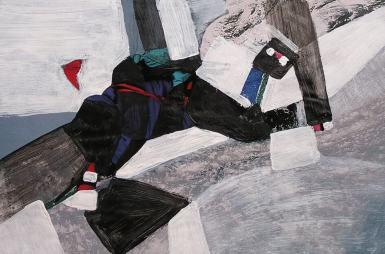 Estudio de geometría abstracto-figurativa en las clases de Barcelona