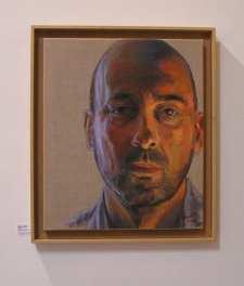 Retrato. Exposición alumnos 4 Pintors. Clases de Pintura y Dibujo en Barcelona