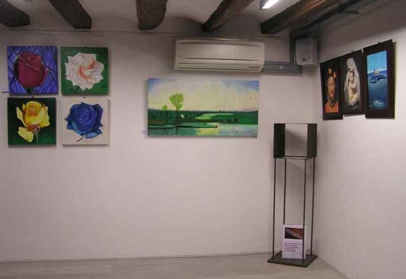 Figuraciones en muestra colectiva de alumnos de cursos de Dibujo y Pintura Barcelona