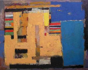 1. SUMMER. Oil on canvas. 130x162 cm. Painting classes in Barcelona