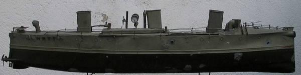 4. El vaixell WATT. Model original. Dibuix a Barcelona