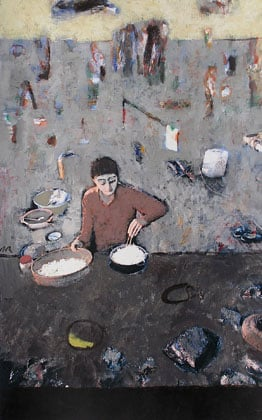 Curso de pintura acrílica sobre foto en Barcelona
