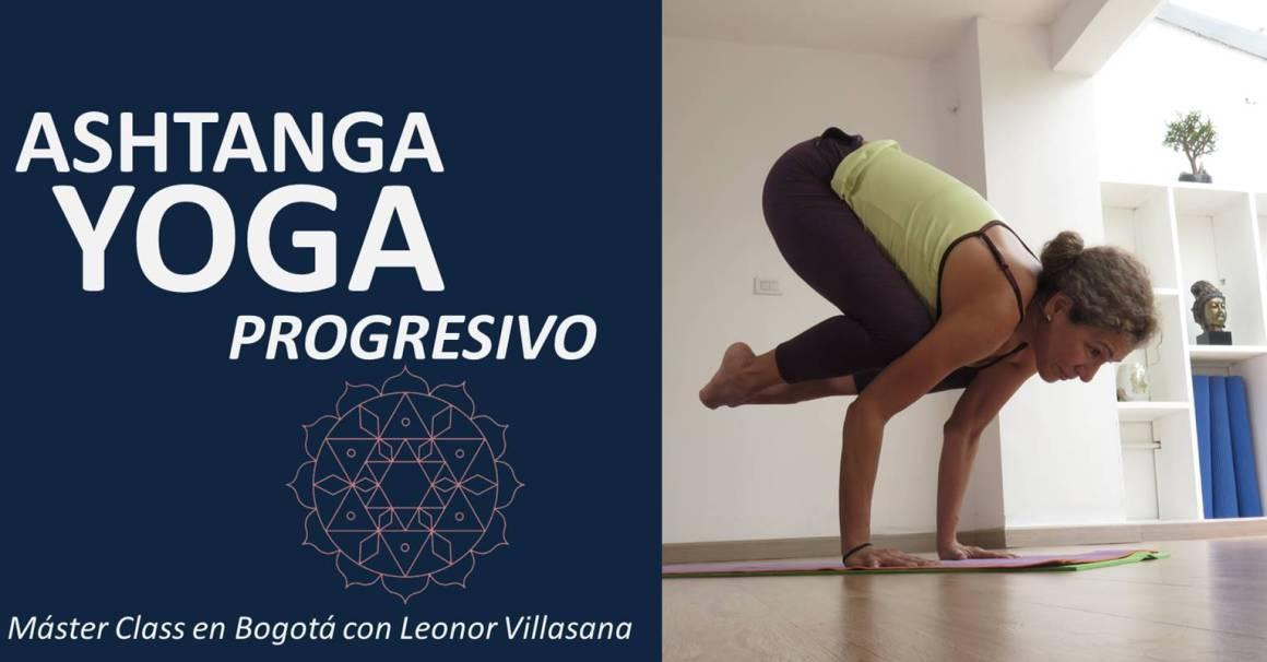 Ashtanga Vinyasa Yoga progressive master class Bogota