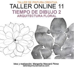 TIEMPO DE DIBUJO 2 - ARQUITECTURA FLORAL
