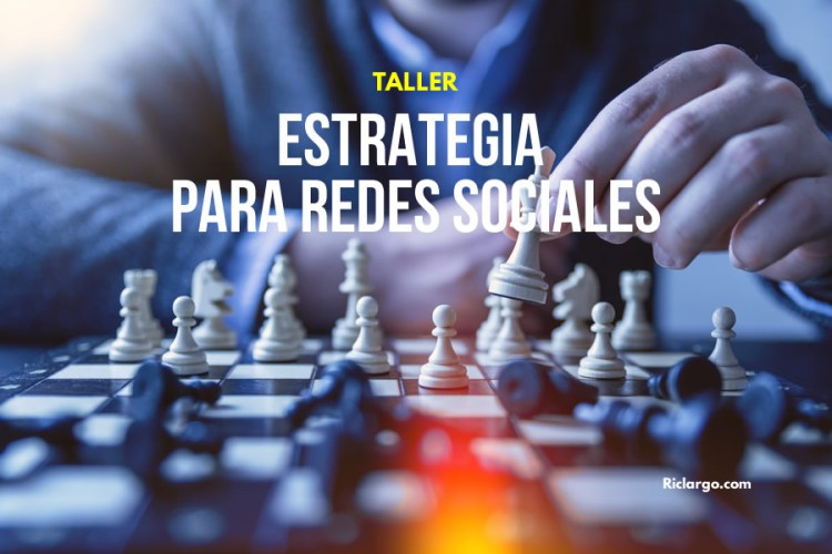 Taller Estrategia para Redes Sociales