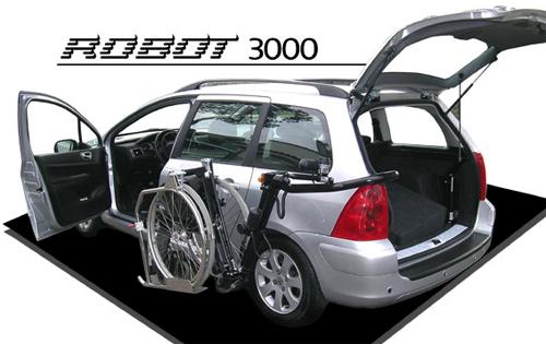 embarque silla ruedas ROBOT 3000