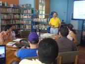 El taller con Manuel Iván Urbina