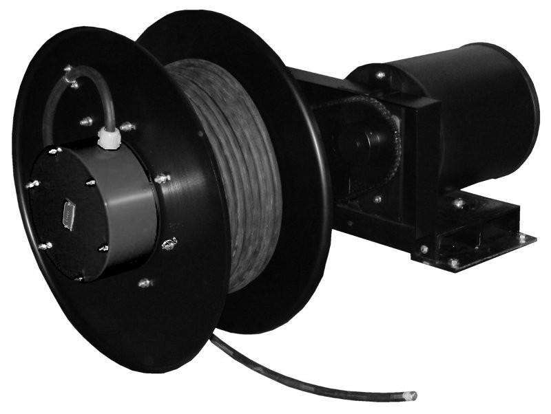 Enrollador FAex para recorridos medios y cables de poténcia