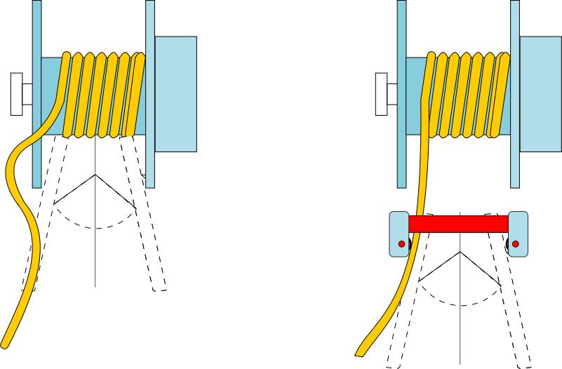 Ejemplo aplicación boca rodillos en enrollador