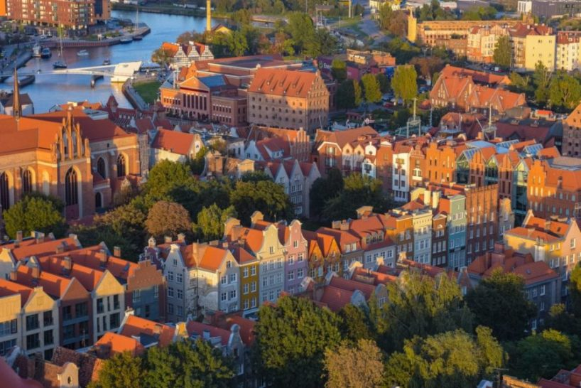 Fly from London to Gdansk for just £16 return!