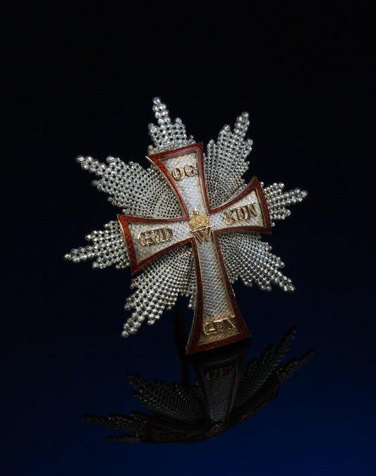 Order of the Dannebrog (Dannebrogordenen). Denmark