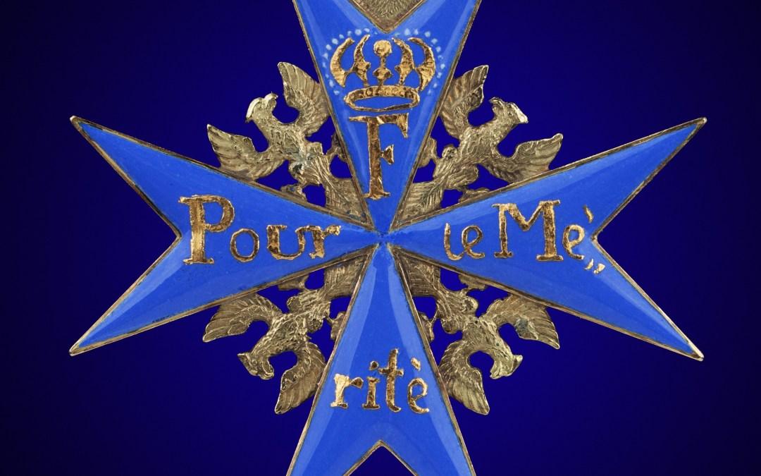 """The """"Pour le Mérite"""""""