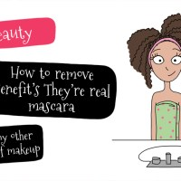 How to easily remove Benefit's They're real mascara - or any other kind of makeup