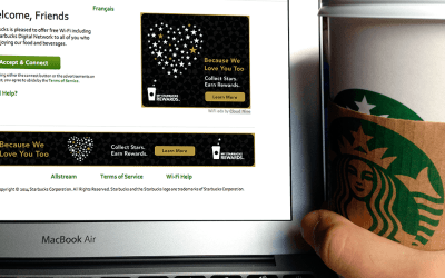 Can't connect to Starbucks WiFi?