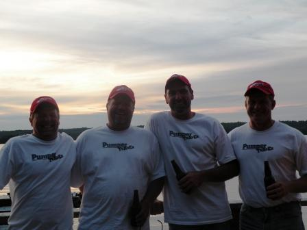 Junior, Lee, Jim & Rich...a great group of guys!