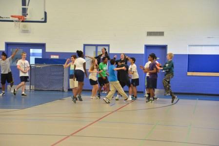 Staff Student Dodgeball Game - 2013 (12 of 54)