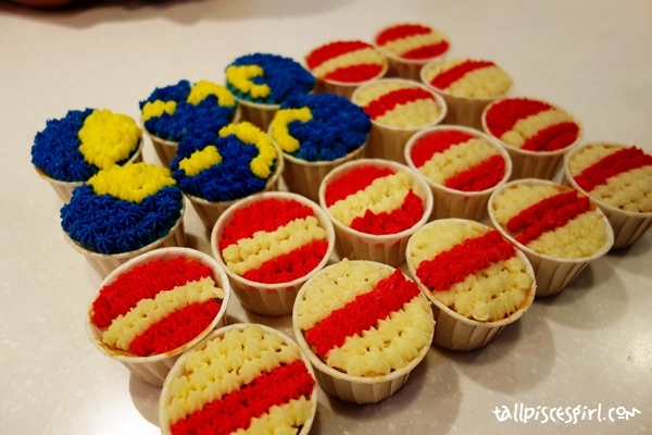Our 1Malaysia Cupcake Challenge mission accomplished
