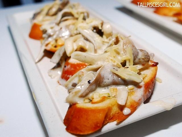 Mushroom Bruschetta Price: RM 8.90