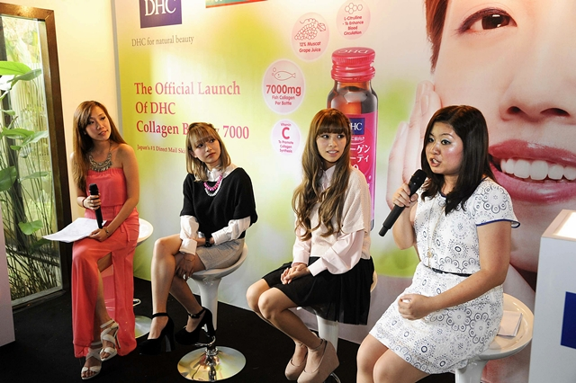 Prominent bloggers, Audrey and Ringo shared their thoughts after consuming DHC Collagen Beauty 7000 for a month
