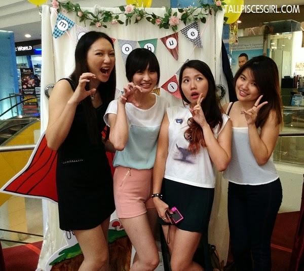 The girls: Me, Jennifer, Angeline and Sarah