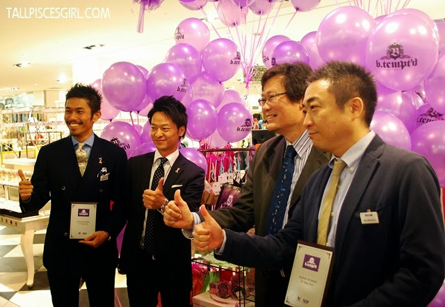 Higher management of Wacoal Malaysia and ISETAN officiated the launch