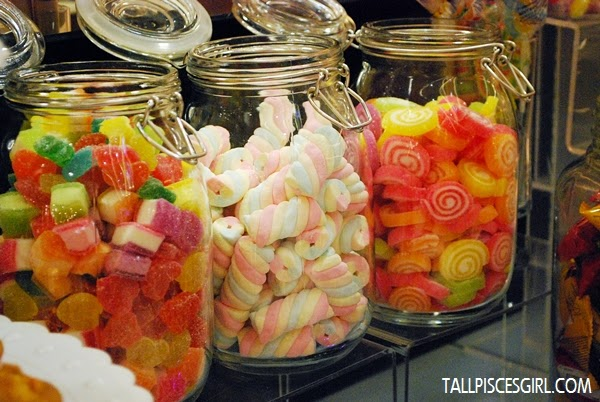 Candies and marshmellows