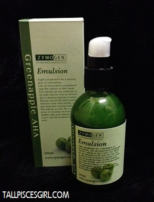 Zymogen Greenapple AHA Emulsion