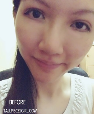 Before application of Crazy Rumors Lip Balm