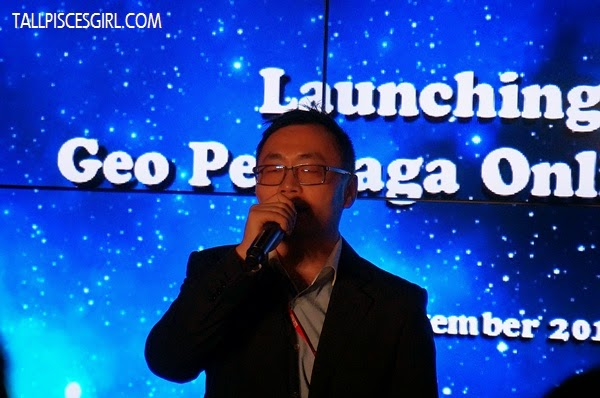 Mr. Lin Feng, Overseas Business Division Director of Kingsoft (M) Sdn Bhd and Kingsoft Corporation Limited, China.