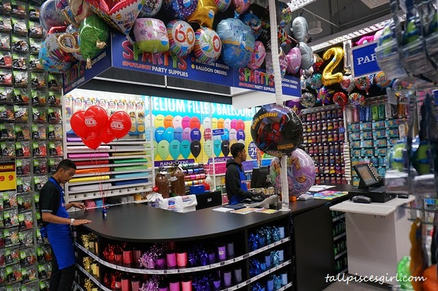If you're planning for a party, don't forget to stop by at the Party Section