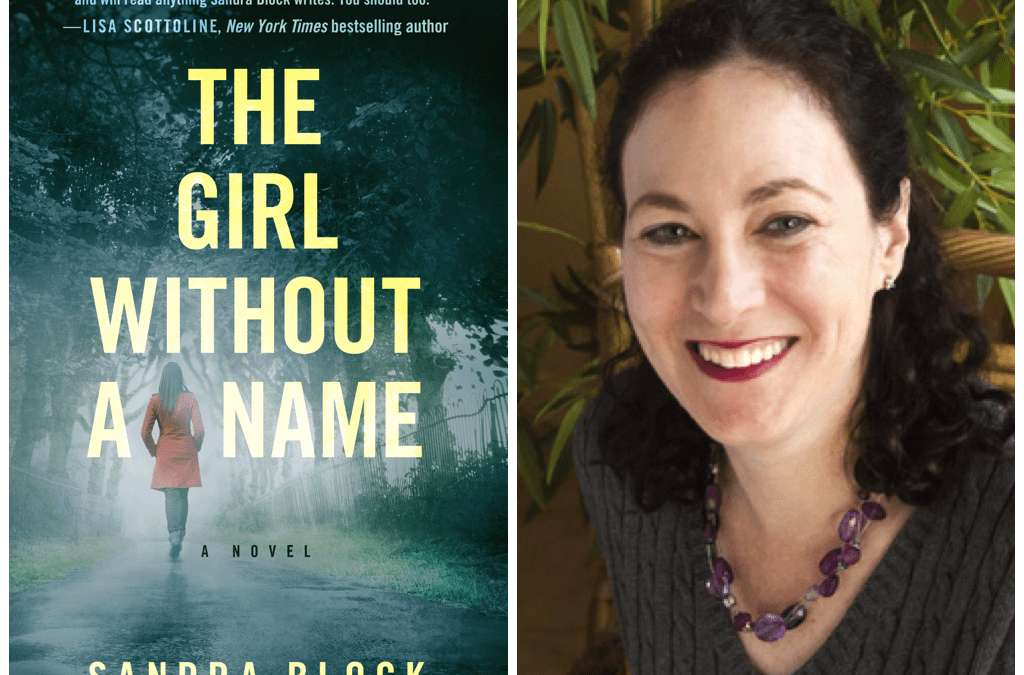 Happy Pub Day, Sandra Block!