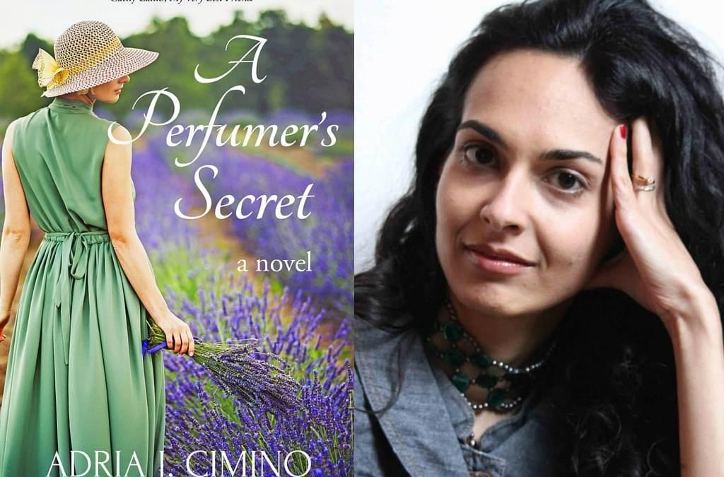 Congrats to Adria Cimino's Launch for A PERFUMER'S SECRET