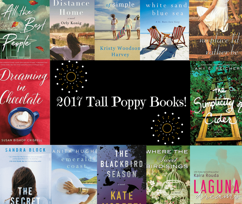 Check out the 2017 Tall Poppy Book Lineup!