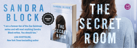 Celebrating the release of THE SECRET ROOM with Sandra Block