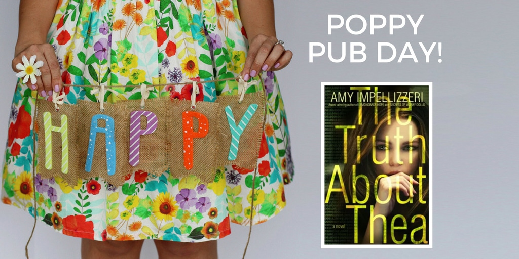 Happy Pub Day to Amy Impellizzeri and The Truth About Thea