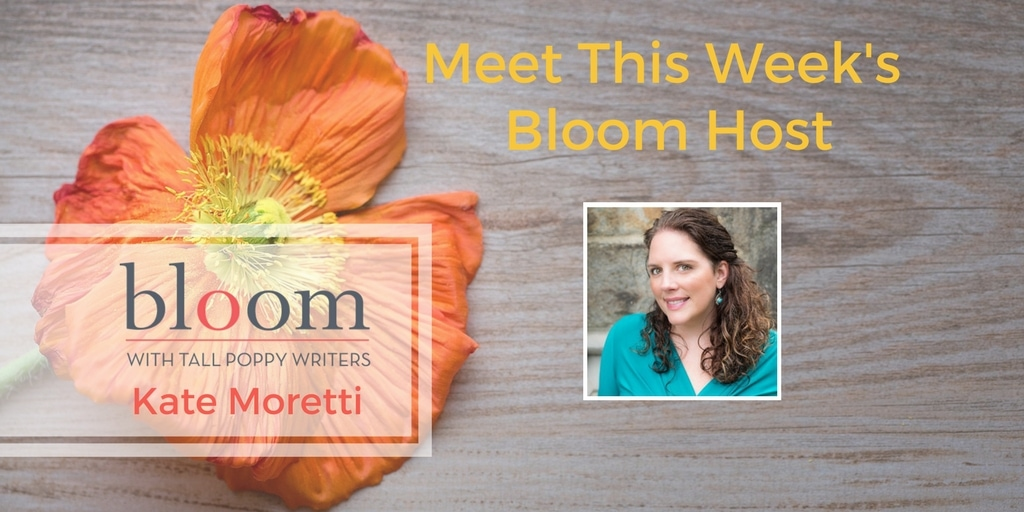 Are You in Bloom with Kate Moretti?
