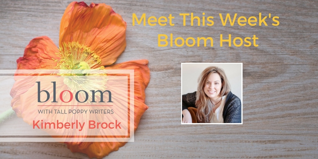 Are You In Bloom with Kimberly Brock?