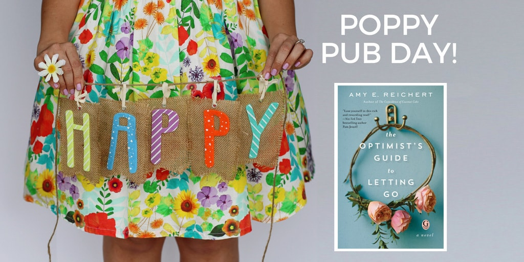 Happy Pub Day to The Optimist's Guide to Letting Go and Amy Guertin Reichert
