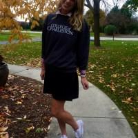 Fall Fashion: College Sweatshirt