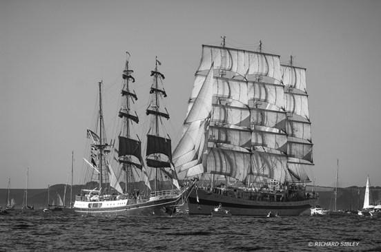 Alexander von Humboldt,MIR,Tall Ships,Funchal 500, Falmouth,