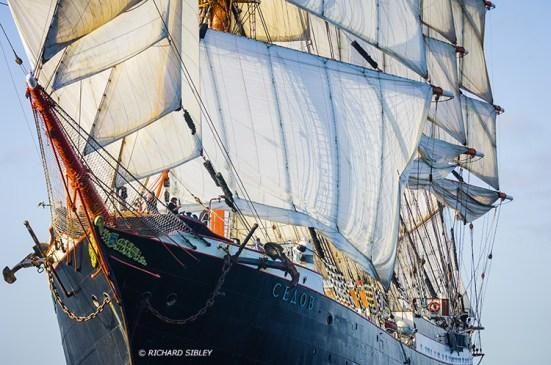 Sedov, 4 Masted Barque. Russia